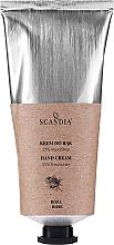 """Parfumuri și produse cosmetice Cremă de mâini """"Trandafir"""" - Scandia Cosmetics Hand Cream 25% Shea Rose"""