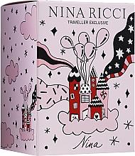 Parfumuri și produse cosmetice Nina Ricci Nina - Set (edt/80ml + edt/roll/10ml)