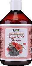 Parfumuri și produse cosmetice Șampon pentru protecția culorii părului - Eco U Poppy Seed Oil Shampoo