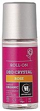 "Parfumuri și produse cosmetice Deodorant Roll-On ""Trandafir"" - Urtekram Rose Crystal Deo Roll-On"