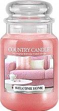 Parfumuri și produse cosmetice Lumânare aromată (borcan) - Country Candle Welcome Home