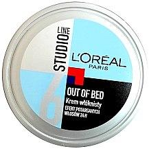 Parfumuri și produse cosmetice Cremă de modelare pentru păr - L'Oreal Paris Studio Line Out of Bed Cream