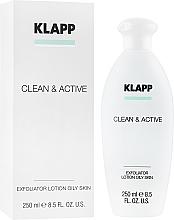 Parfumuri și produse cosmetice Exfoliant pentru față - Klapp Clean & Active Exfoliator Oily Skin