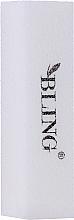Parfumuri și produse cosmetice Pilă-buffer pentru unghii, albă - Bling