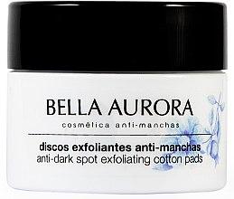 Parfumuri și produse cosmetice Discuri anti-pigmentare de curățare facială - Bella Aurora Anti-Dark-Spot Exfoliation Pads