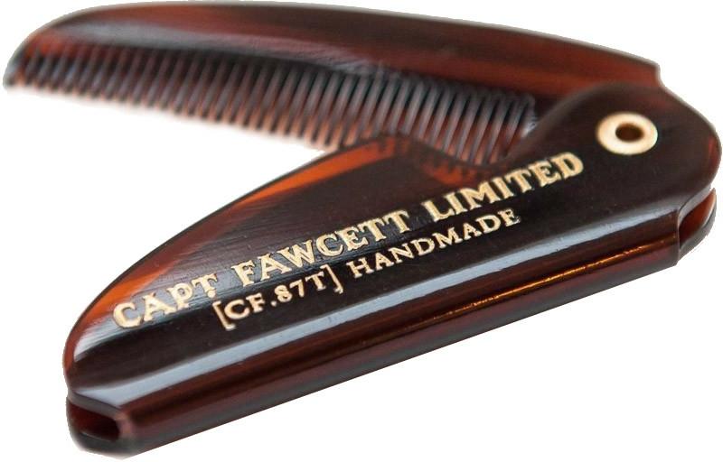 Set - Captain Fawcett Sandalwood (moust/wax/15ml + moustache comb) — Imagine N5