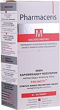 Parfumuri și produse cosmetice Cremă anti-întindere - Pharmaceris M Foliacti Stretch Mark Prevention Cream