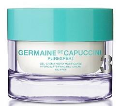 Parfumuri și produse cosmetice Cremă-gel cu efect hidratant pentru față - Germaine de Capuccini Purexpert Oil-Free Hydro-Mat Gel-Cream