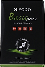"Parfumuri și produse cosmetice Complex de vitamine ""Basic"" - Niyodo Basic Pack"
