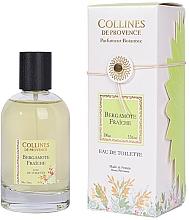 Parfumuri și produse cosmetice Collines de Provence Fresh Bergamot - Apă de toaletă