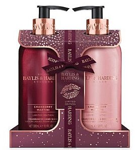 Set - Baylis & Harding Cranberry Martini (h/wash/300ml + b/lot/300ml) — Imagine N1