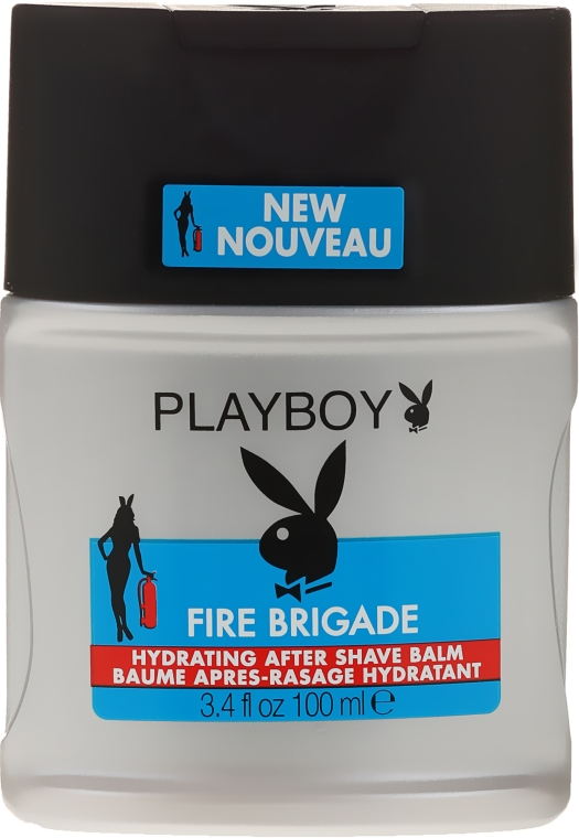 Balsam după ras - Playboy Fire Brigade After Shave Balm — Imagine N1
