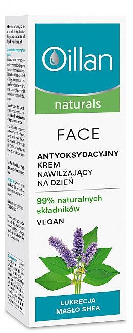 Cremă hidratantă de față - Oillan Naturals — Imagine N1