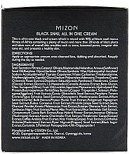 Cremă cu extract de melc negru - Mizon Black Snail All In One Cream  — Imagine N3