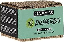 Parfumuri și produse cosmetice Balsam de buze - Beauty Jar Dr.Herbs Herbal Lip Balm