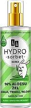 Parfumuri și produse cosmetice Gel universal 96% - AA Hydro Sorbet Gel (spray)