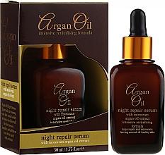 Parfumuri și produse cosmetice Ser regenerant de noapte pentru față - Xpel Argan Oil Night Repair Serum