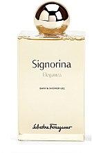Parfumuri și produse cosmetice Salvatore Ferragamo Signorina Eleganza - Gel de duș