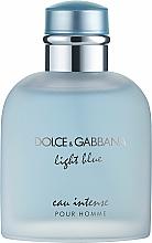 Parfumuri și produse cosmetice Dolce & Gabbana Light Blue Eau Intense Pour Homme - Apă de parfum