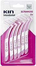 Parfumuri și produse cosmetice Perie interdentară 0,6mm - Kin Ultramicro ISO 0