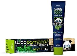 Parfumuri și produse cosmetice Pastă de dinți, cu mentă și fluor - Woobamboo Mint Chill Toothpaste With Fluoride