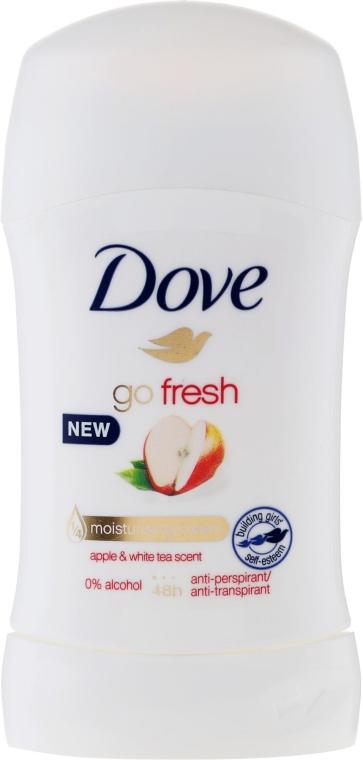 "Deodorant-Stick ""Măr și Ceai verde"" - Dove Go Fresh Apple & White Tea Deodorant"