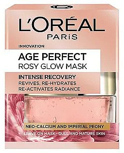 Mască de față - L'Oreal Paris Age Perfect Rosy Glow Mask — Imagine N1