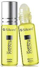 Parfumuri și produse cosmetice Ulei pentru unghii și cuticule - Silcare The Garden of Colour Cuticle Oil Roll On Lemon Yellow