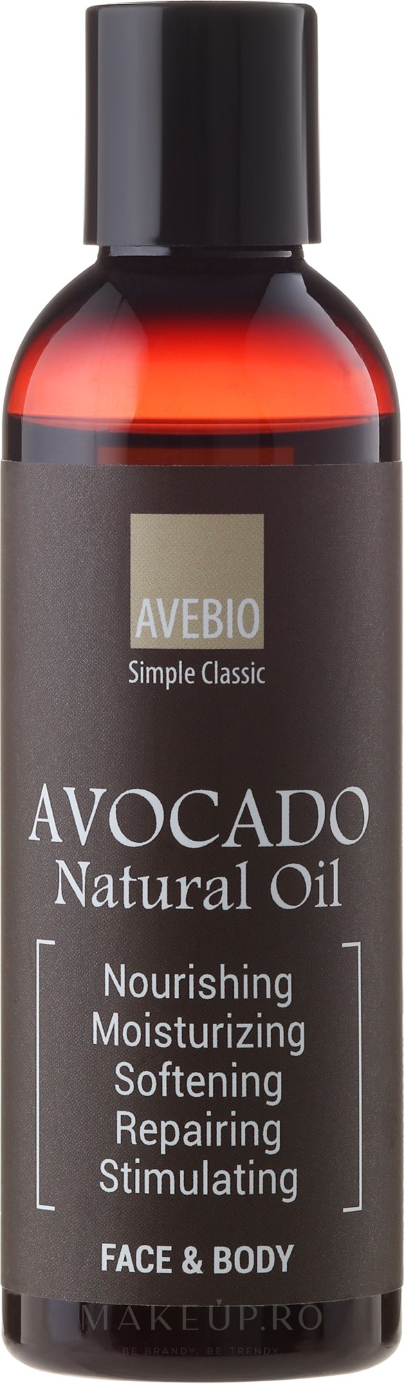 "Ulei esențial ""Avocado"" - Avebio OiL Avocado — Imagine 100 ml"