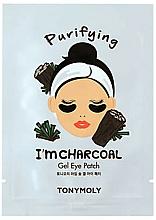 Parfumuri și produse cosmetice Patch-uri sub ochi - Tony Moly Purifying I'm Charcoal Eye Mask