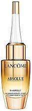 Parfumuri și produse cosmetice Ser concentrat anti-îmbătrânire cu extract de trandafir - Lancome Absolue Repair Bi-Ampoule Concentrated