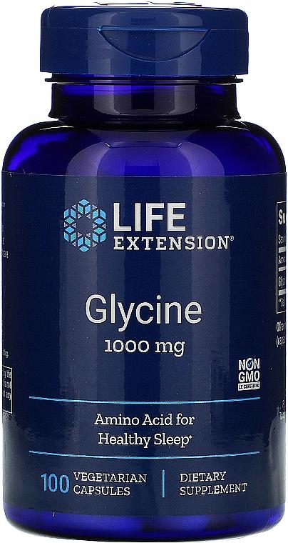 "Supliment alimentar ""Glicină"" - Life Extension Glycine"