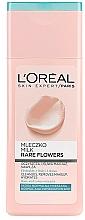 Parfumuri și produse cosmetice Lapte pentru față - L'Oreal Paris Rare Flowers Face Milk