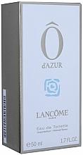 Parfumuri și produse cosmetice Lancome O d`Azur - Apă de toaletă