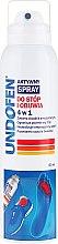 Parfumuri și produse cosmetice Spray pentru picioare - Undofen Active Foot Spray 4in1