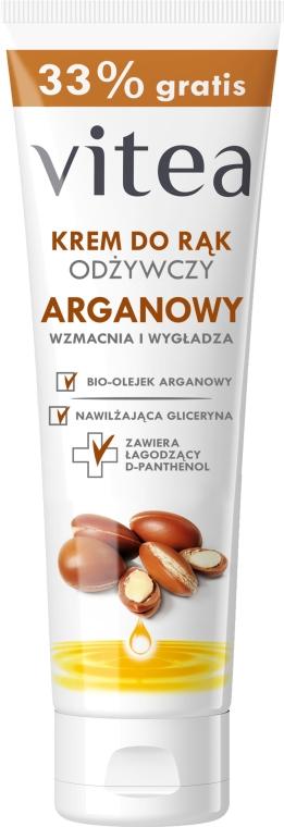 Cremă nutritivă cu ulei de aragan pentru mâini - Vitea Moisturizing Hand Cream Argan Oil