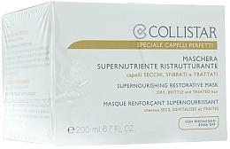 Parfumuri și produse cosmetice Masca pentru păr uscat - Collistar Supernourishing Restorative Mask