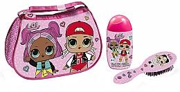 Parfumuri și produse cosmetice Air-Val International LOL Surprise - Set (shmp/120ml + brush + bag)