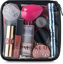 """Parfumuri și produse cosmetice Trusă cosmetică incoloră """"Visible Bag"""" 15x15x5 cm (fără produse) - MakeUp"""