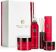 Parfumuri și produse cosmetice Set - Rituals The Ritual of Ayurveda Rebalancing Collection (b/scr/125g + sh/gel/200ml + b/cr/200ml + fragrance/sticks/50ml)