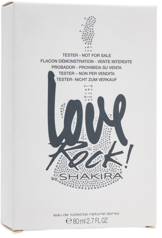 Shakira Love Rock! by Shakira - Apă de toaletă (tester cu capac) — Imagine N4
