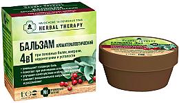 """Parfumuri și produse cosmetice Balsam """"Aromaterapie"""" 4 în 1 pe bază de 16 plante medicinale - ECO Laboratorie Herbal Therapy"""