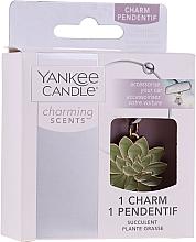 Parfumuri și produse cosmetice Pandantiv decorativ pentru mașină - Yankee Candle Succulent Charming Scents Charm