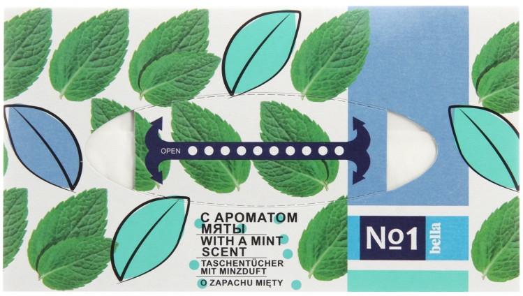 Șervețele uscate cu aromă de mentă - Bella Mint Wipes