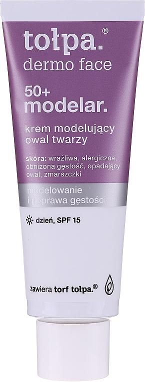 Cremă de zi pentru față - Tolpa Dermo Face Modelar 50+ Day Cream SPF15 — Imagine N3