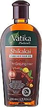 Parfumuri și produse cosmetice Ulei de păr - Dabur Vatika Indian Acacia Enriched Hair Oil Mild Care For Greying Hair