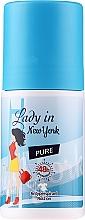 Parfumuri și produse cosmetice Deodorant - Lady In New York Pure Deodorant