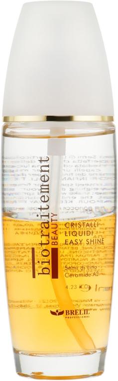 Cristale lichide pentru păr - Brelil Bio Traitement Beauty Cristalli Liquidi Easy Shine — Imagine N1