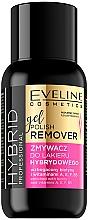 Parfumuri și produse cosmetice Soluție pentru îndepărtarea ojei - Eveline Cosmetics Hybrid Professional