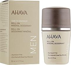 Parfumuri și produse cosmetice Deodorant pentru bărbați - Ahava Time To Energize Magnesium Rich Deodorant Roll-On